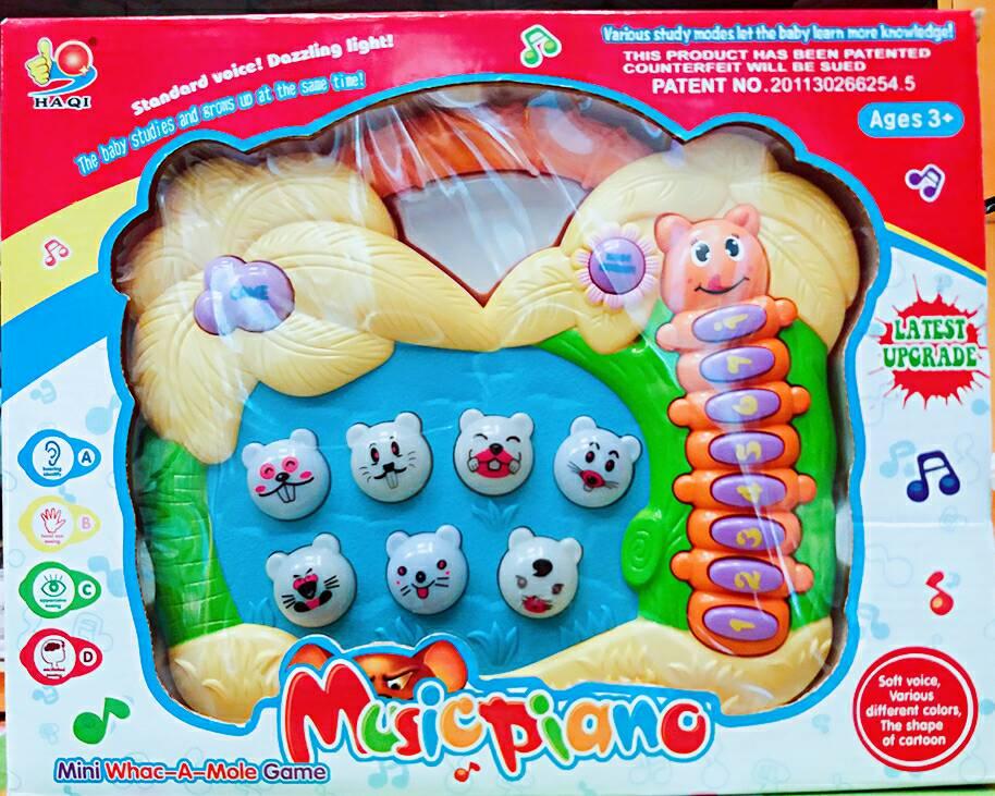 【兒童玩具】可愛鼠造型歡樂打地鼠