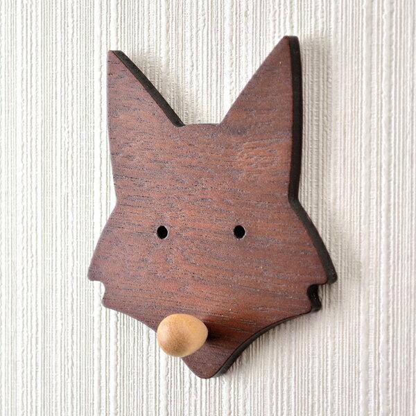 【HYI家居生活館】木薄片動物壁掛-大狐狸《MIT手工製作全館免運費》