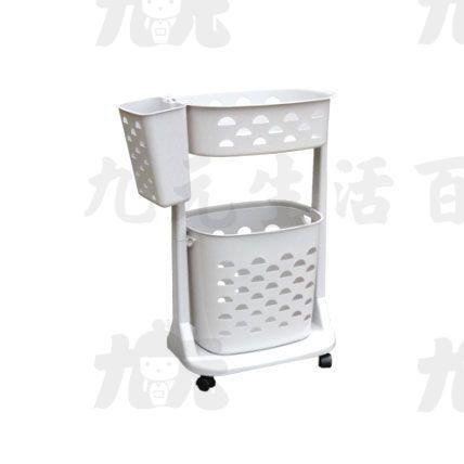 【九元生活百貨】聯府F01新生活衣物分類架(附輪)