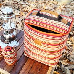 【露營趣】TNR-152 CAmping scape 汽化燈收納袋 M 露營燈 野營燈 瓦斯燈 煤油燈 燃料袋 燈袋 攜燈袋 保護袋