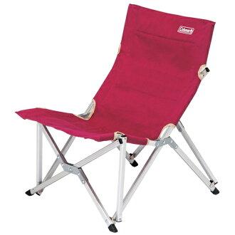 【鄉野情戶外專業】 Coleman |美國| 休閒椅 帆布舒活椅-葡萄紅 CM-3111JM000