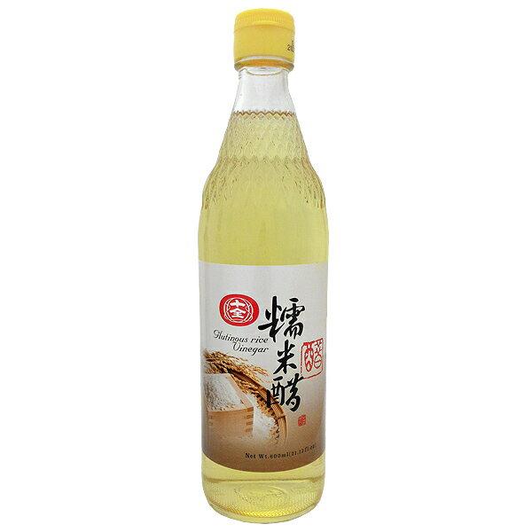 十全 糯米醋 600ml (12入)/箱【康鄰超市】