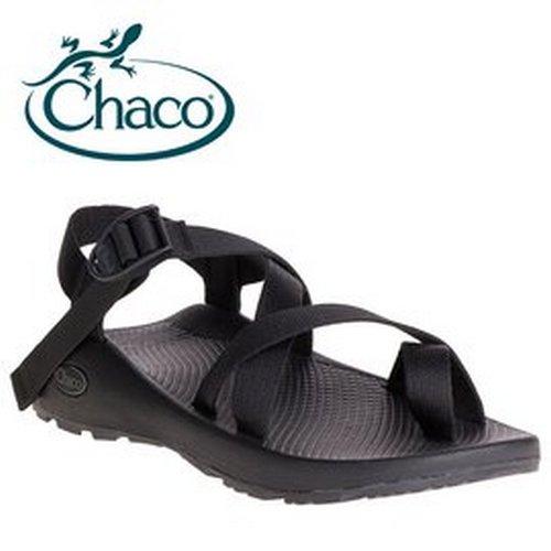 【Chaco 美國】Z/2 越野運動涼鞋 戶外涼鞋 夾腳款 男款 黑色 (CH-ZCM02-H405)