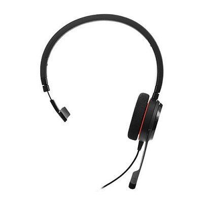 Jabra Evolve 20 MS Mono USB 單耳耳麥 長時間配戴設計