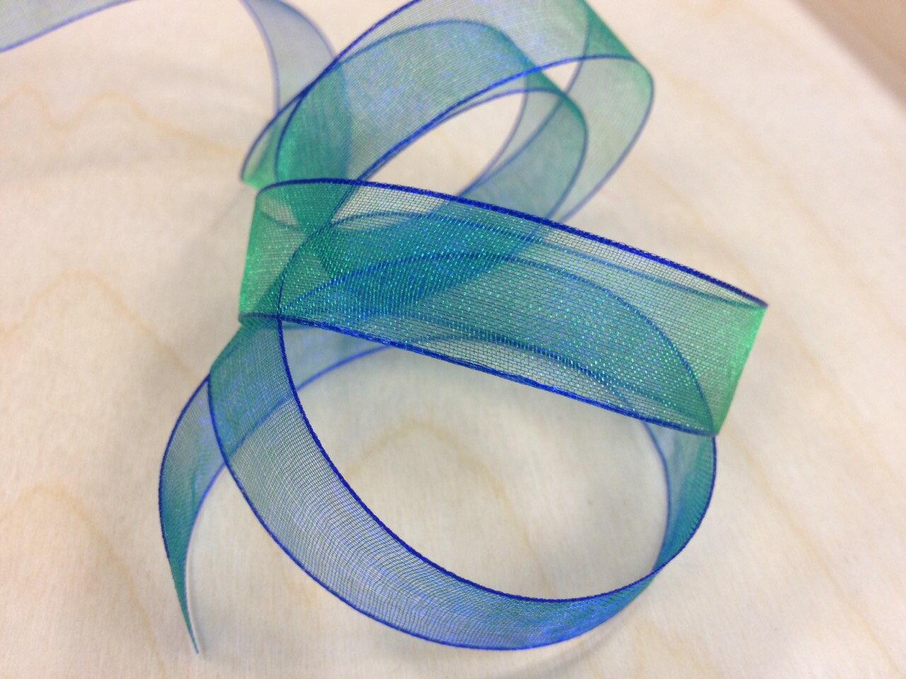 Petals緞帶刺繡- 雙色雪紗 15mm (三十五色)