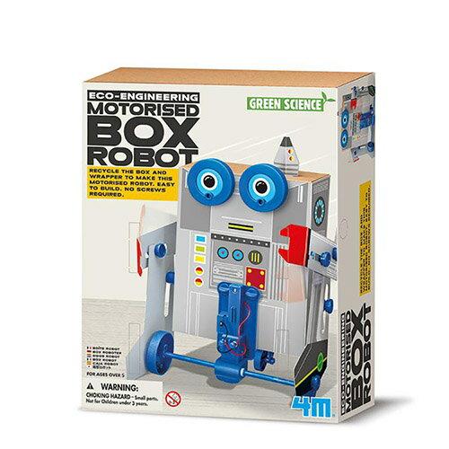 《4M科學探索》出動!變形盒子機器人