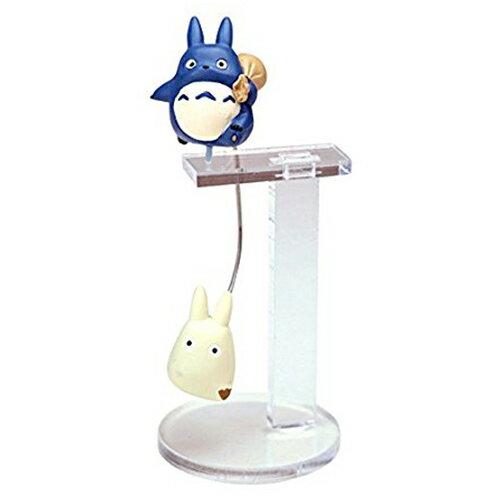 中龍貓款【日本正版】龍貓 平衡玩具 擺飾 公仔 宮崎駿 Sekiguchi - 589845