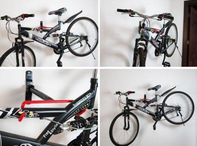 ~意生~掛鉤加大~T型款~自行車壁掛架承重20KG 任何車種 壁掛式展示架掛壁式壁掛式展示