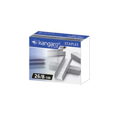 袋鼠 kangaro 26/8-1M 釘書針 / 盒