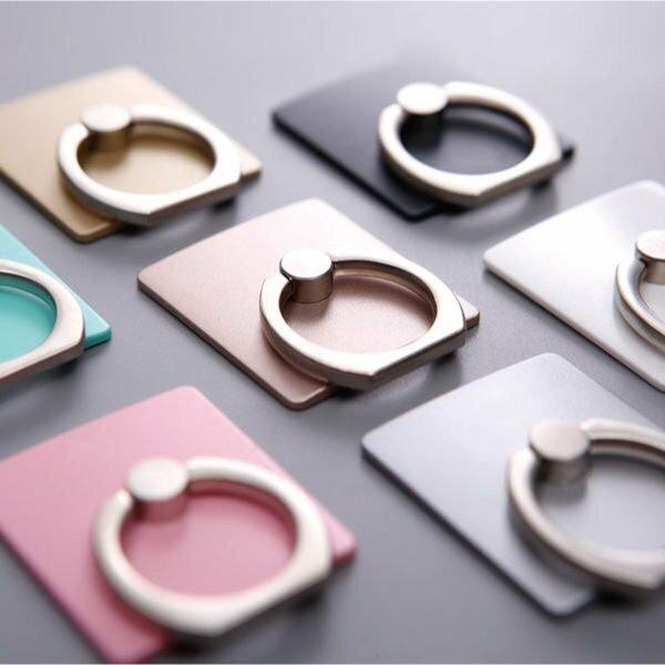 簡約手機指環支架 黏貼式 通用款 360度 手機架 手機座 戒指支架 I6 6S I7【櫻桃飾品】【24593】