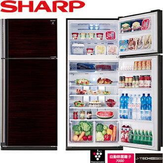 SHARP 夏普 SJ-PD58V-BK 583L 變頻電冰箱 二門 泰製 (玄武黑)