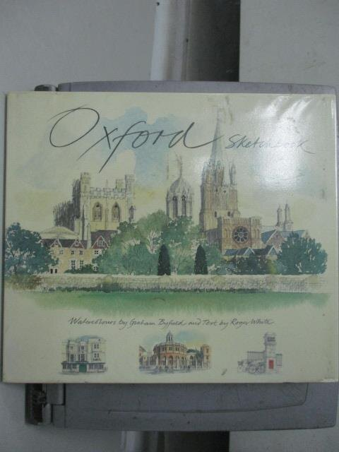 ~書寶 書T8/建築_ZJM~Oxford Sketchbook_White Roger