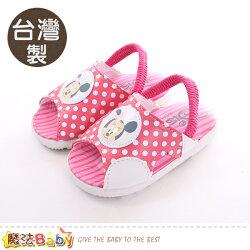 寶寶鞋 台灣製迪士尼米妮正版幼兒嗶嗶鞋 魔法Baby~sk0408
