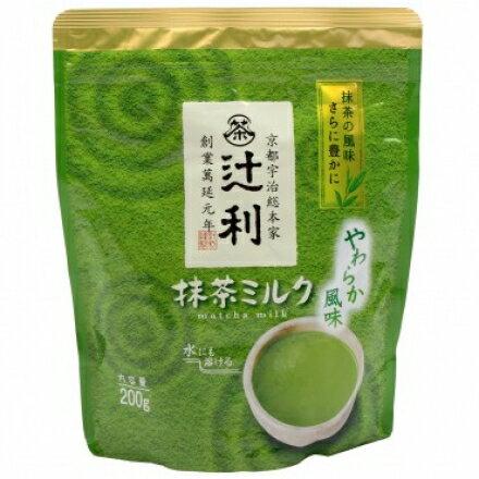 日本片岡辻利抹茶牛奶粉200g / 4901305410197 0