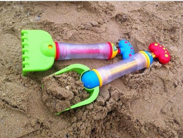 英國ELC 挖沙噴水槍兩用玩具 洗澡戲水水槍挖沙玩具-1入