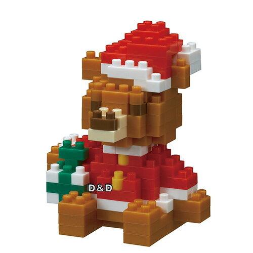 《NanoBlock迷你積木》NBC-201聖誕小熊