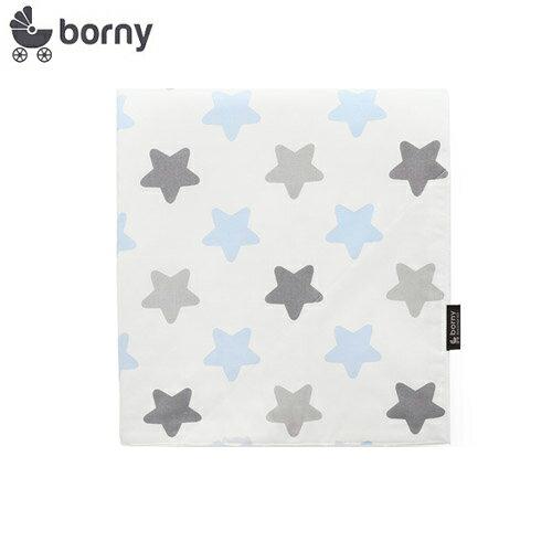 韓國【 Borny 】四季安撫毯(嬰兒毯)(蜜糖藍) - 限時優惠好康折扣