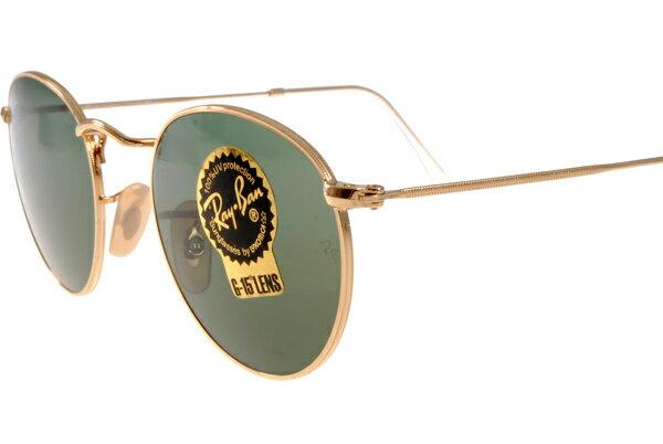 Ray Ban 雷朋 金邊綠鏡色 太陽眼鏡 RB3447 4