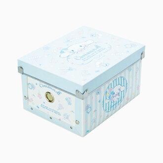 【真愛日本】4901610422496 組合式摺疊收納箱(S)-CN+AAU 三麗鷗家族 喜拿狗 大耳狗 收納盒 置物 日用品