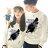 ◆快速出貨◆限定特賣會 原領刷毛T恤 情侶T恤 暖暖刷毛 MIT台灣製.飄飄羽毛筆【YCS081-1】可單買.艾咪E舖 1