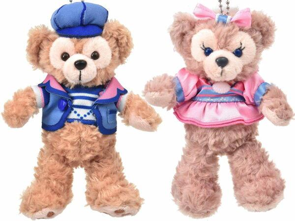 日本直送 Disney 日本東京 2016年 情人節 休閒款 Duffy /Shelliemay 15cm 站姿 吊飾