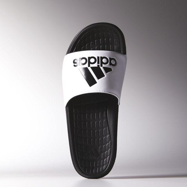 Adidas Voloomix SLIDES 拖鞋 男鞋 輕量 舒適 黑 白 ~ 世界~