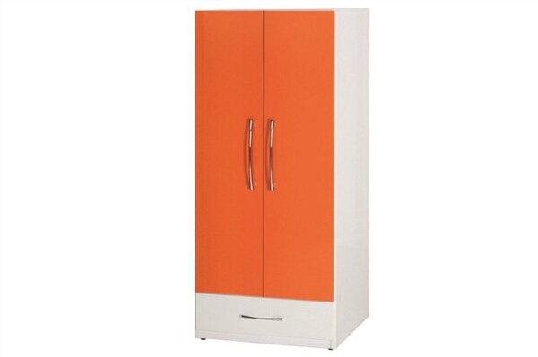 【石川家居】830-08(桔白色)衣櫥(CT-112)#訂製預購款式#環保塑鋼P無毒防霉易清潔