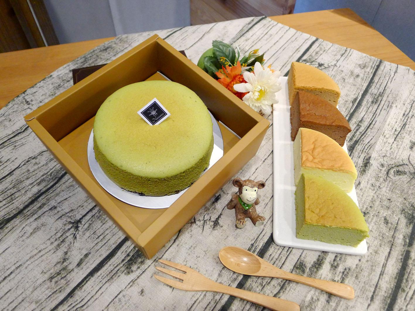 【輕。乳酪】六吋蛋糕│蛋奶素 原味/抹茶/巧克力/紅麴 軟綿綿像雲朵般的口感,蛋糕體細膩、輕盈、鬆軟又濕潤!280克±5%/盒 2