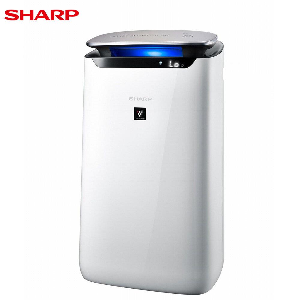 SHARP 夏普 FP-J60T-W 空氣清淨機 15坪 自動除菌離子 LED空氣品質指示燈
