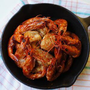 【四季肉舖】越南新鮮草蝦 (12P ) 310g / 盒 1