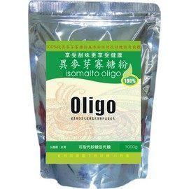 【綠太陽】100%異麥芽寡糖粉1000g