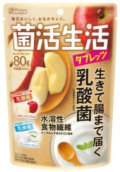 日本代購*菌活生活乳酸菌糖80G