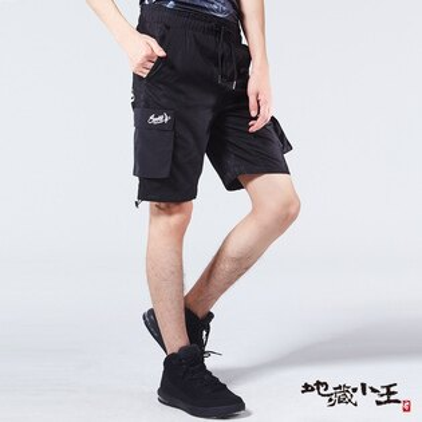 【春夏新品↘】網布貼合運動短褲-BLUEWAYJIZO地藏小王