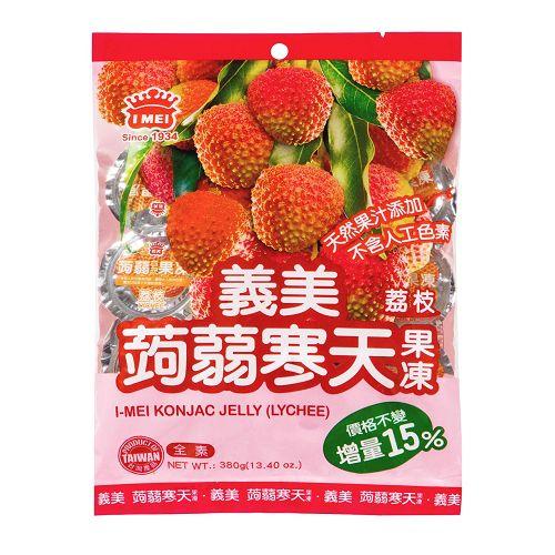 義美荔枝蒟蒻寒天果凍330g【愛買】