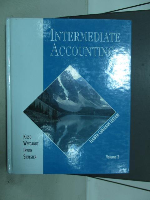 ~書寶 書T9/原文書_ZAF~Intermediate accounting_1994