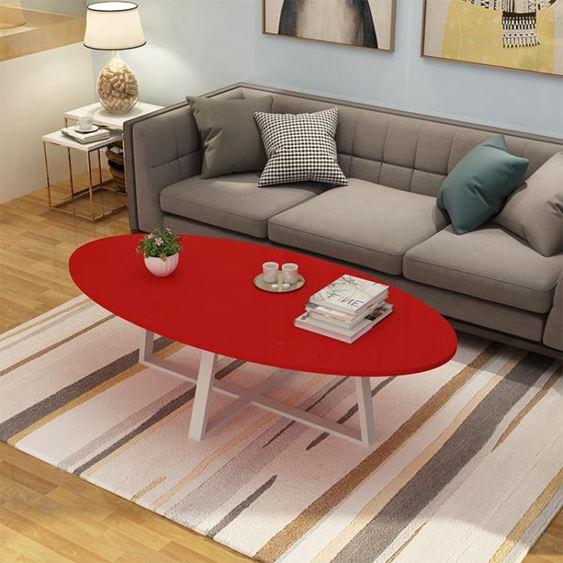 陽臺小茶幾簡約餐桌兩用北歐客廳現代簡易風格經濟型迷你小戶型【快速出貨】 2