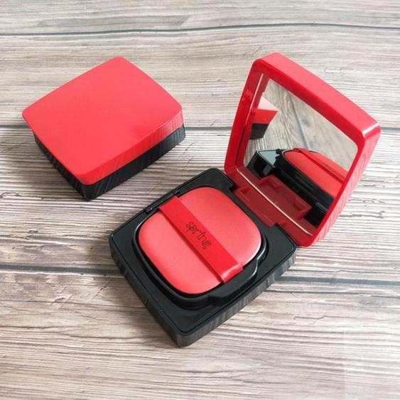 diy氣墊盒 氣墊盒子空盒 磁鐵感應開關DIY自制氣墊BB霜粉底液分裝替換外殼子【快速出貨】 0