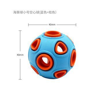 寵物玩具 梅花腳狗狗玩具球大型犬狗球發聲泰迪耐咬幼犬訓練寵物玩具發光球 2