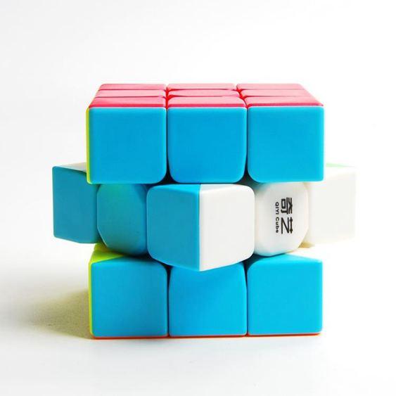 魔方 格二階三階四階五階魔方順滑實色免貼紙比賽魔方玩具套裝 1