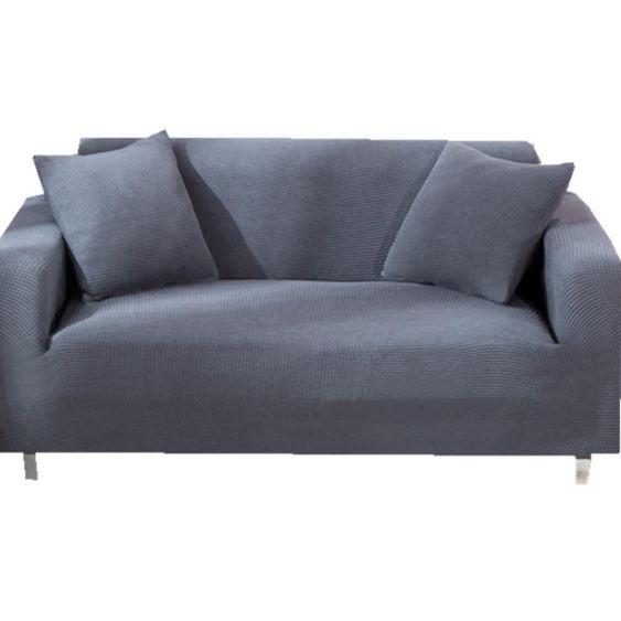 彈力加厚萬能沙發套全包布套沙發罩全蓋翻新布藝北歐簡約純色 【快速出貨】 5