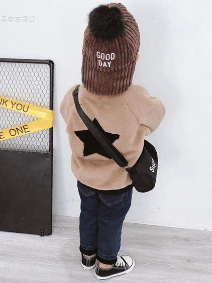 寶寶冬裝男童棉襖外套加絨加厚3歲兒童開衫上衣兩面穿潮【快速出貨】 1