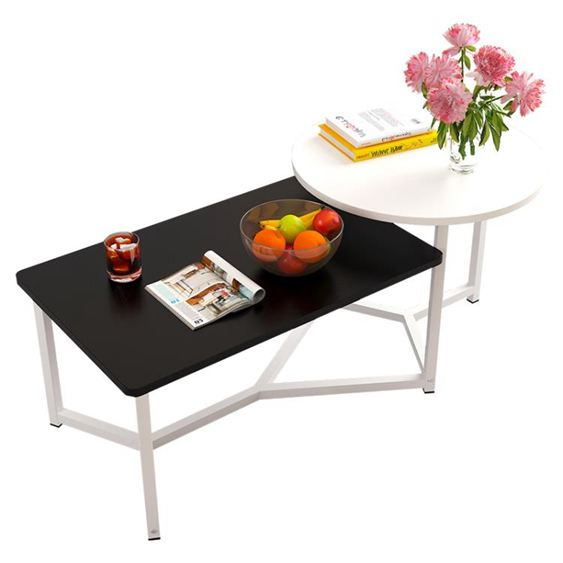 北歐茶幾創意迷你簡約現代小戶型矮桌子簡易客廳邊幾仿實木茶桌臺【快速出貨】 3