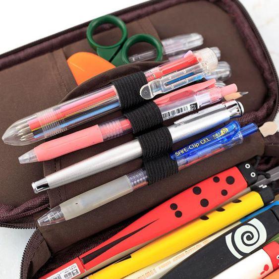 筆袋 筆筒鉛筆盒筆袋大容量多功能創意新簡約韓版男女初中小學生文具盒韓國大學生中學生小清新 3
