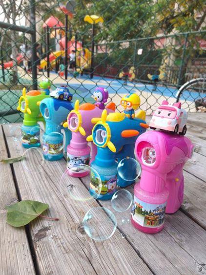 泡泡機 兒童全自動泡泡水補充液不漏水電動吹泡泡槍玩具 1