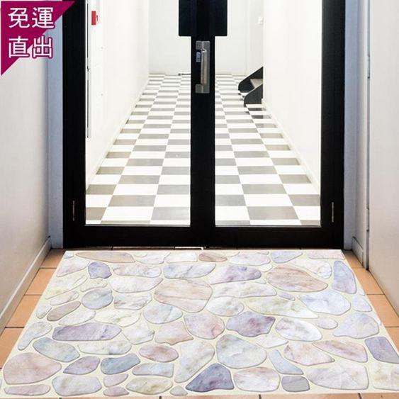 窗貼3D立體墻貼衛生間廁所地貼瓷磚貼紙裝飾貼畫地板貼紙防水耐磨自粘【快速出貨】 2