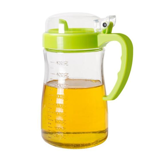 油壺 玻璃防漏家用油瓶醋壺醬油罐廚房600ML 大號 2