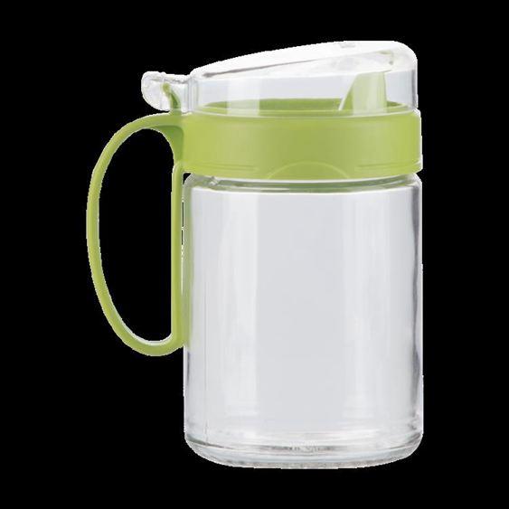油壺 茶花油壺 防漏玻璃油壺廚房家用塑料油罐醬油瓶醋壺大號小號油瓶 1