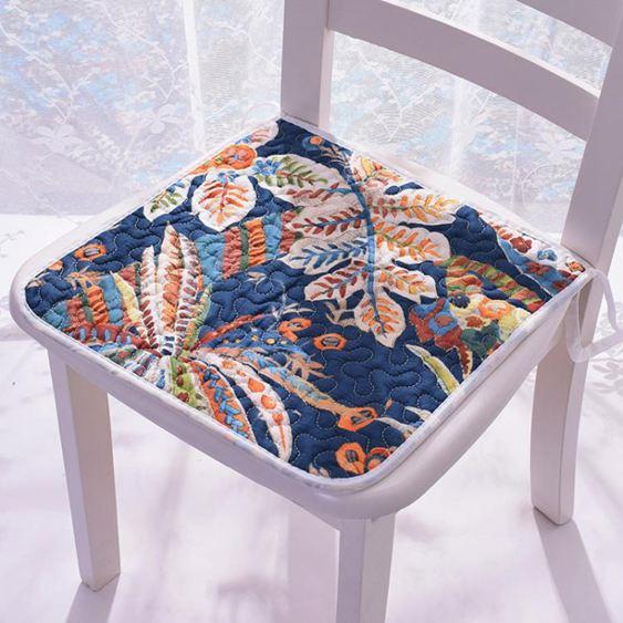 坐墊 四季通用薄款椅墊防滑辦公坐墊學生凳墊電腦椅子墊夏季餐椅墊 3