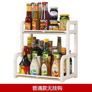 廚房置物架 調料調味用品油鹽醬醋家用刀架多功能多層筷子廚具收納 1