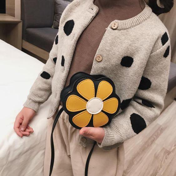 兒童包 清新花朵小童包包女寶寶可愛斜挎包2019公主單肩包兒童配飾小包潮 1
